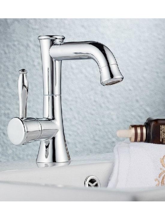 New Arrival Excellent Silver Single Hole Lavatory Faucets - Item #: FAU0202009