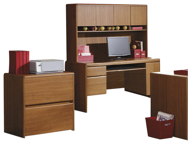 Bush Northfield 2-Drawer Lateral Wood File Cabinet in ...