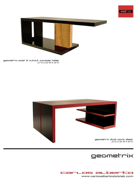 Carlos Alberto Furniture - Check out our furniture capabilities and line of products we have design and created.