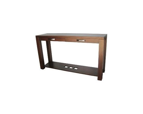 Creative Home Furnishings - Boxwood Furniture - Boxwood Long Sofa Table