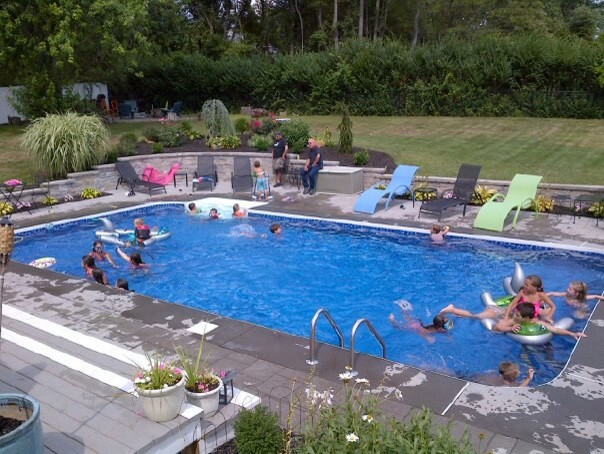 poolscape design ideas traditional new york by dunn