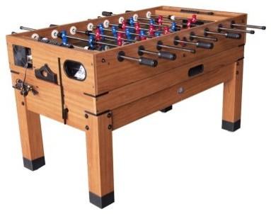 Playcraft Danbury 13-in-1 Multi-Game Table - Honey - modern