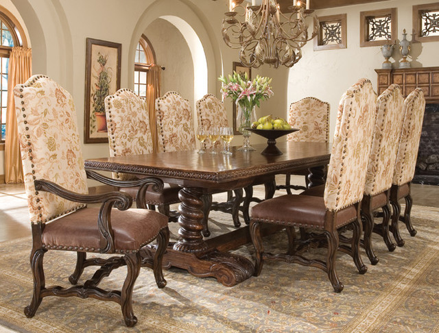 Coronado Dining Table Traditional Tables Houston By
