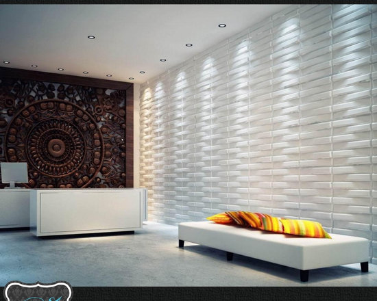 Wall - Wall decoration made from biodegradable bamboo fibers with no chemicals added!