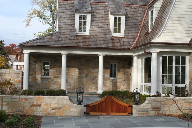 Fish Creek Natural Limestone Veneer traditional exterior