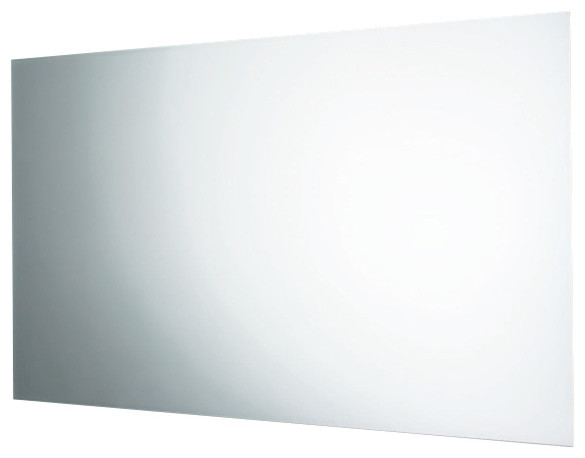 Horizontal or Vertical Wall Mounted Polished Edge Mirror - Contemporary - Bathroom Mirrors - by ...