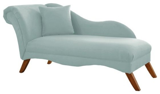 Custom bingham upholstered lounge traditional day beds and for Ava chaise lounge