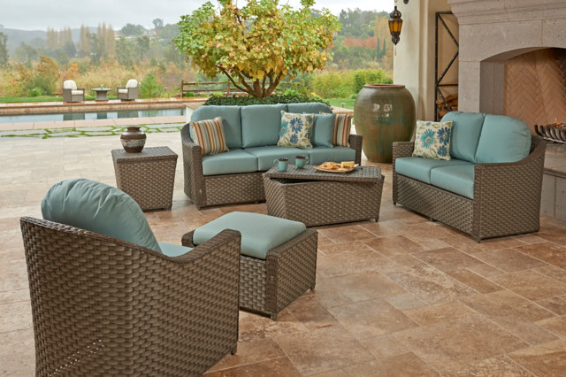 NorthCape International Covington Collection Contemporary Patio Furnitur