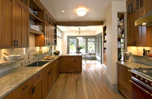 Wood Cabinet Kitchen traditional-kitchen