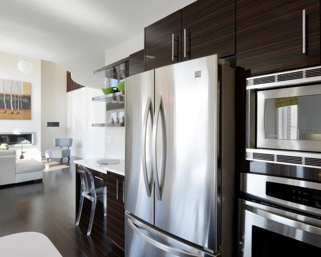 Urbandale model home modern-kitchen