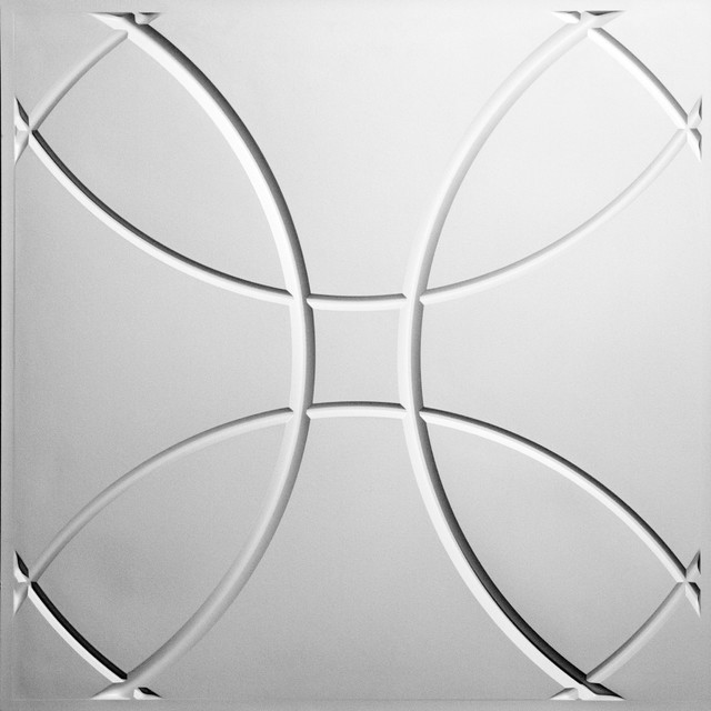 Orb Ceiling Tiles traditional-home-decor