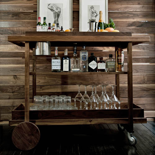 Bar Cart no. One traditional bar carts