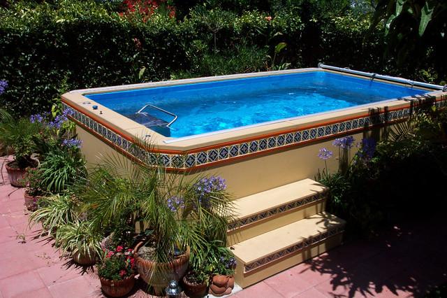 Original Endless Pools®, Patio Pool rustic-swimming-pools-and-spas