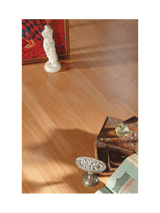 Quarter Sawn Oak Rose - Quarter sawn oak Rose flooring comes prefinished by CosNanoTech+ finishing technology that provides exceptional protection for your hardwood floors. CosNanoTech+ finish is composed of 12 coats of top quality sealers and compounds with aluminum oxide for extra durability. Crosslinked nano particles are used to increase finish elasticity and maintain high wear resistance. Coswick CosNanoTech+ finish has a 25-year finish warranty.