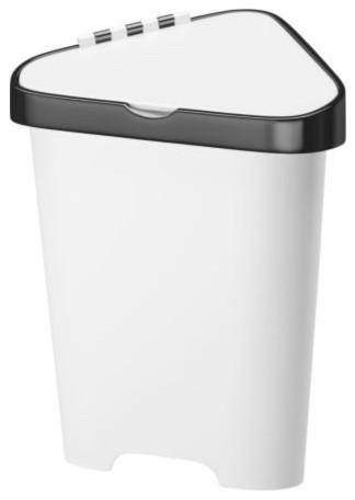 Bolmen trash bin with lid modern wastebaskets by ikea - Modern hamper with lid ...