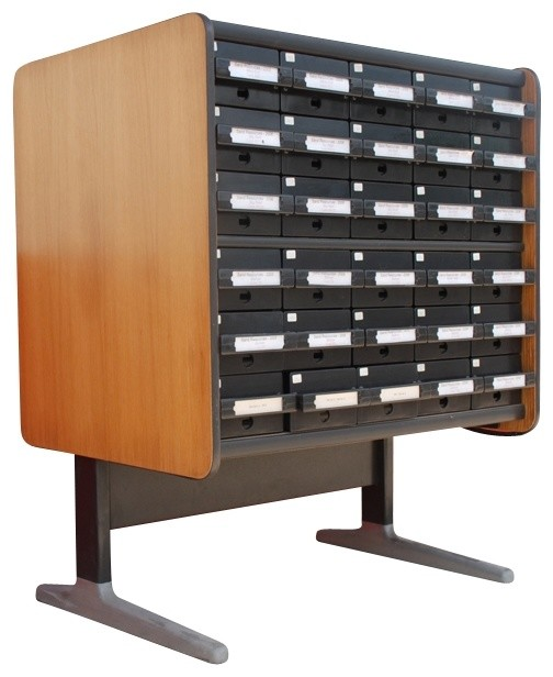 Index Card File Cabinet - Eclectic - Furniture - new york - by Second Shout Out
