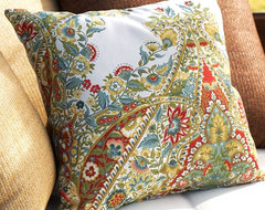 Lyndsay Paisley Outdoor Pillow  pillows