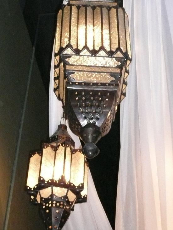 Unique Lighting - Moroccan inspired lighting