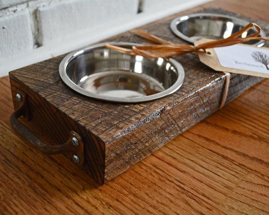 Reclaimed Wood Pet Platter - Reclaimed Things