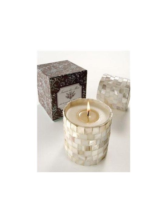 Tresors Des Mers Seashell Candle -