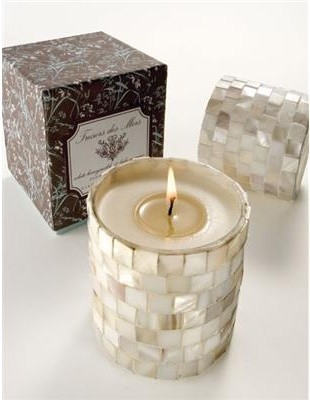 Tresors Des Mers Seashell Candle tropical-candles
