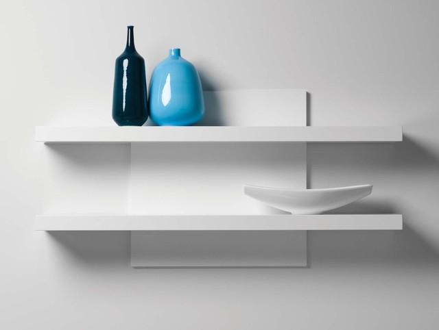 Cargo White Wall Shelf