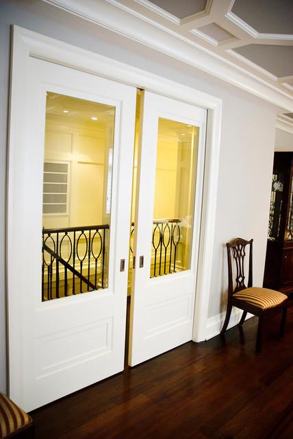 Pocket glass doors interior doors new york by supa doors Interior pocket doors with glass inserts