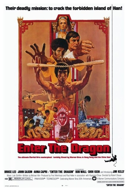 Enter the Dragon 11 x 17 Movie Poster - Style A prints-and-posters