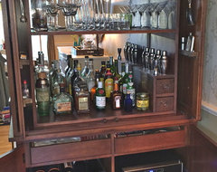 High Quality How To Make A Bar Out Of A Tv Cabinet
