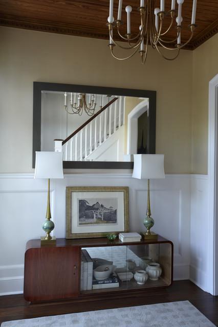 Elizabeth Hagins Interior Design eclectic-entry