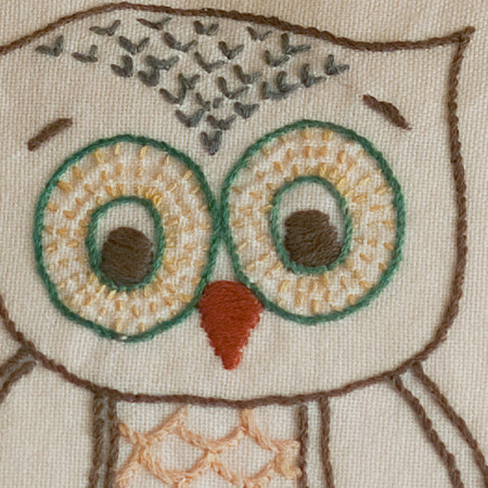 Owl Pillow traditional-kids-bedding