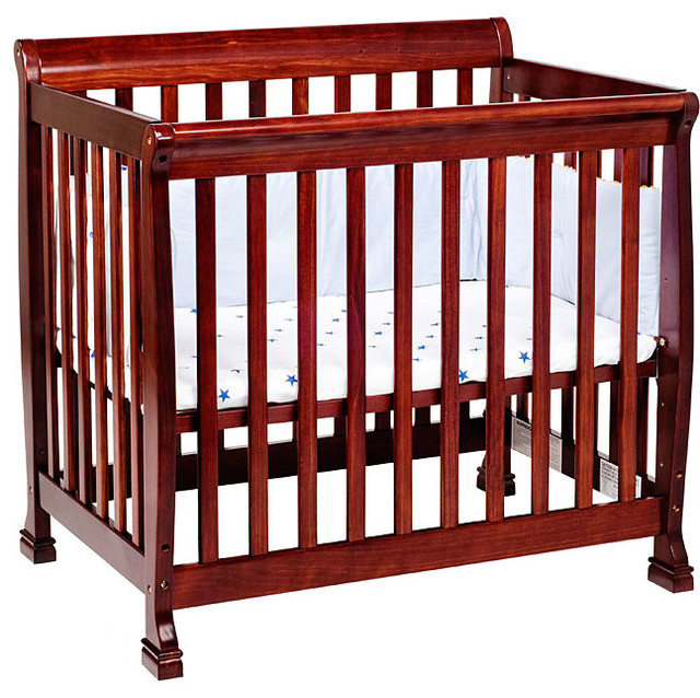 davinci kalani new zealand pine mini crib contemporary cribs by overstock