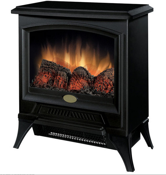 Dimplex Compact Black Freestanding Electric Stove - CS1205 traditional-fireplaces