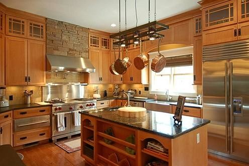 2006 Homearama contemporary-kitchen-cabinetry