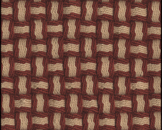 Natural Fiber Rugs & Carpets - Our Barbara Red Fawn semi-worsted wool rug is self bound all around. It is offered in any size.  All rugs are made to order.  Please allow 12 - 16 weeks for delivery.  Purchase at Hemphill's Rugs & Carpets Orange County, California www.RugsAndCarpets.com