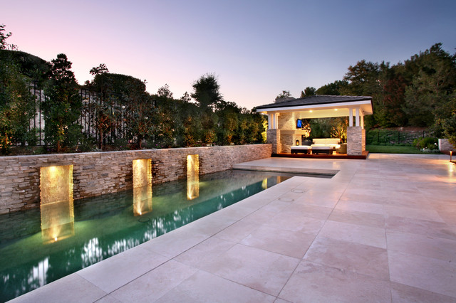 AMS Landscape Design Studios, Inc contemporary-pool