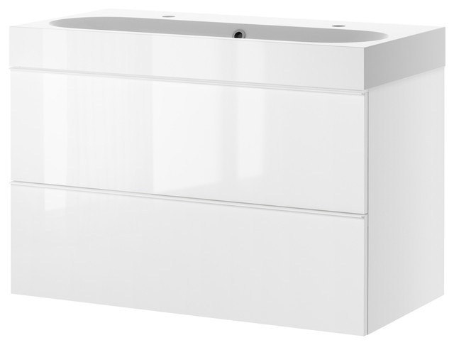Ikea Schuhschrank Hochglanz ~ Godmorgon Braviken vanity  Bathroom Vanities And Sink Consoles  by