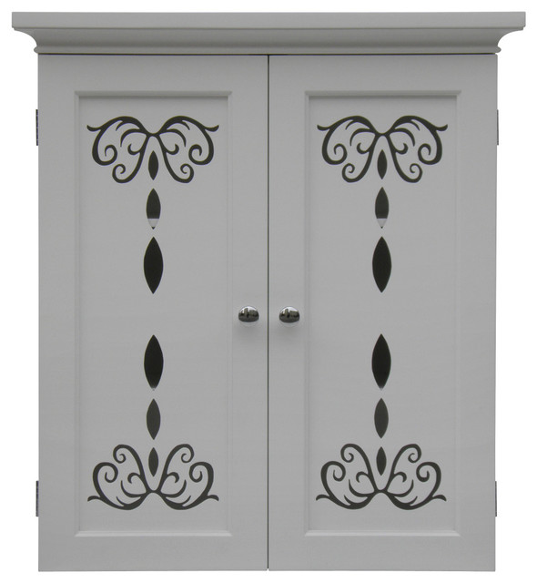 Danielle 2 Door Wall Cabinet contemporary-kitchen-cabinetry
