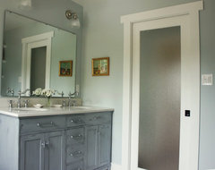 Craftsman House Interior traditional-bathroom
