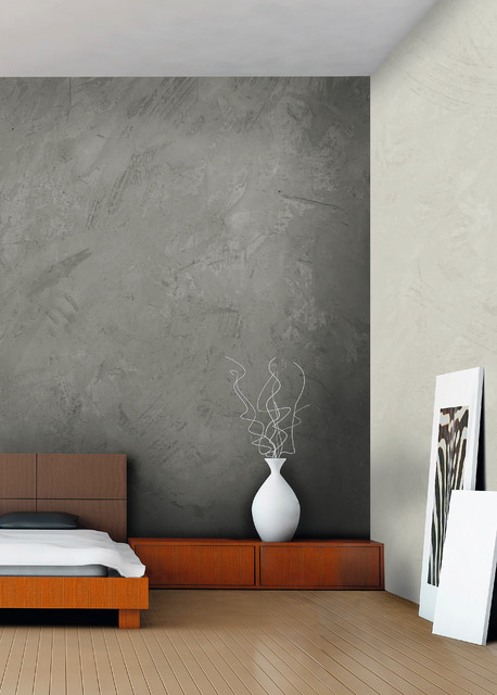 Cement Wall Treatment : Wall coverings loft concrete contemporary paint and