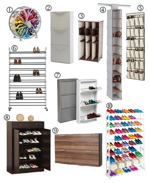 Shoe Storage Ideas From Http Www Apartmenttherapy Com
