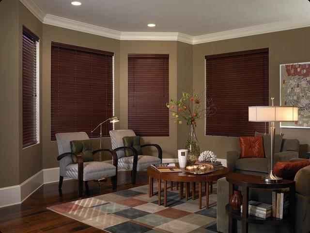 Wood Blinds window-blinds