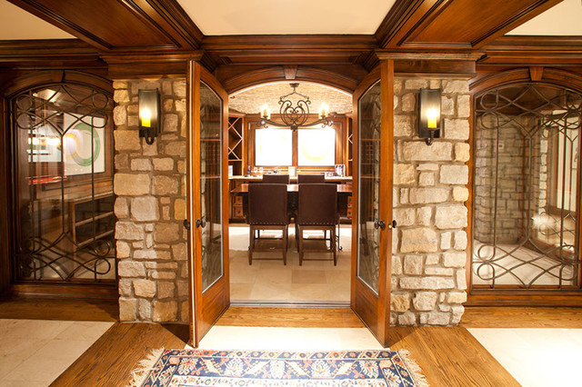 Wine Rooms By Hensley Homes