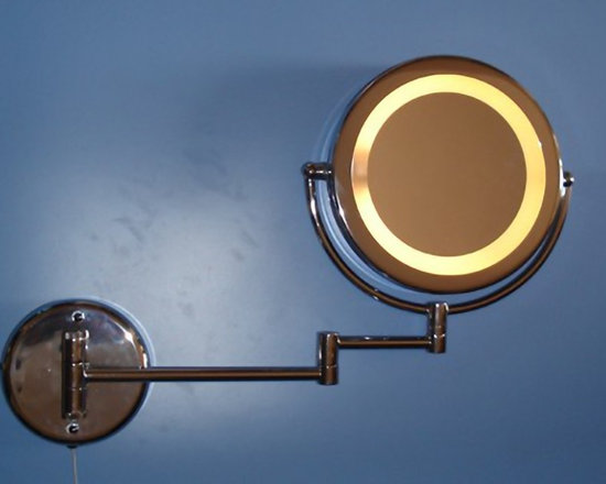 Modern Glass Mirror Wall Sconce - Modern Glass Mirror Wall Sconce