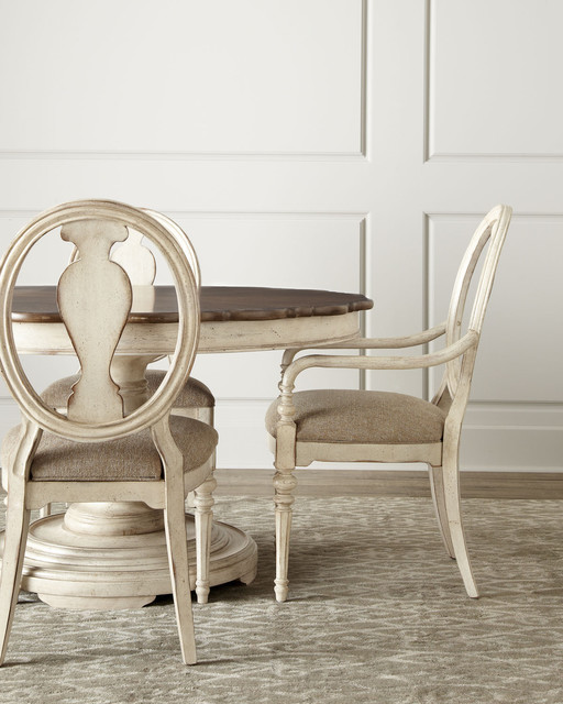 """""""Tabitha"""" Dining Table & Chairs - Traditional - Furniture - by Horchow"""