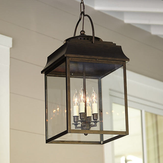 Laurent 4 Light Hanging Lantern Traditional Outdoor