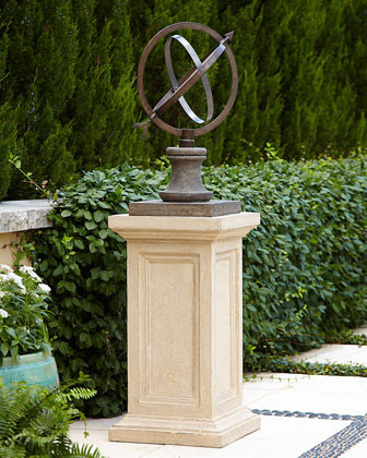 traditional garden sculptures by Horchow