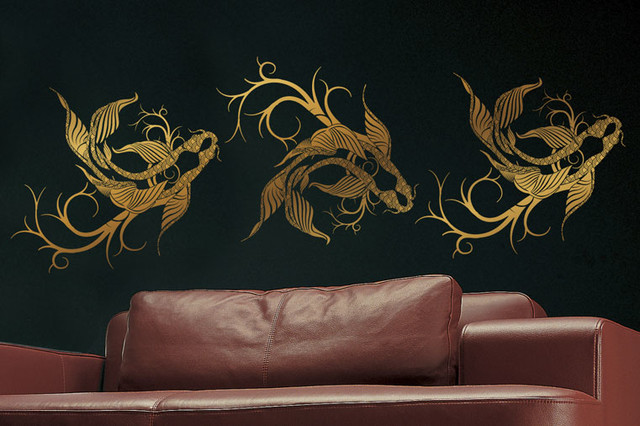 Wall Tattoos by Surface Collective living-room