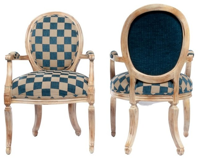 Gustavian Style Shield Back Chairs modern-living-room-chairs