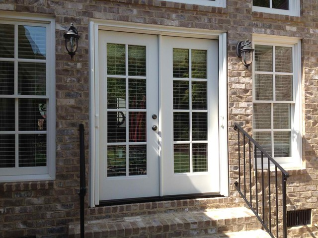Double french doors for French storm doors
